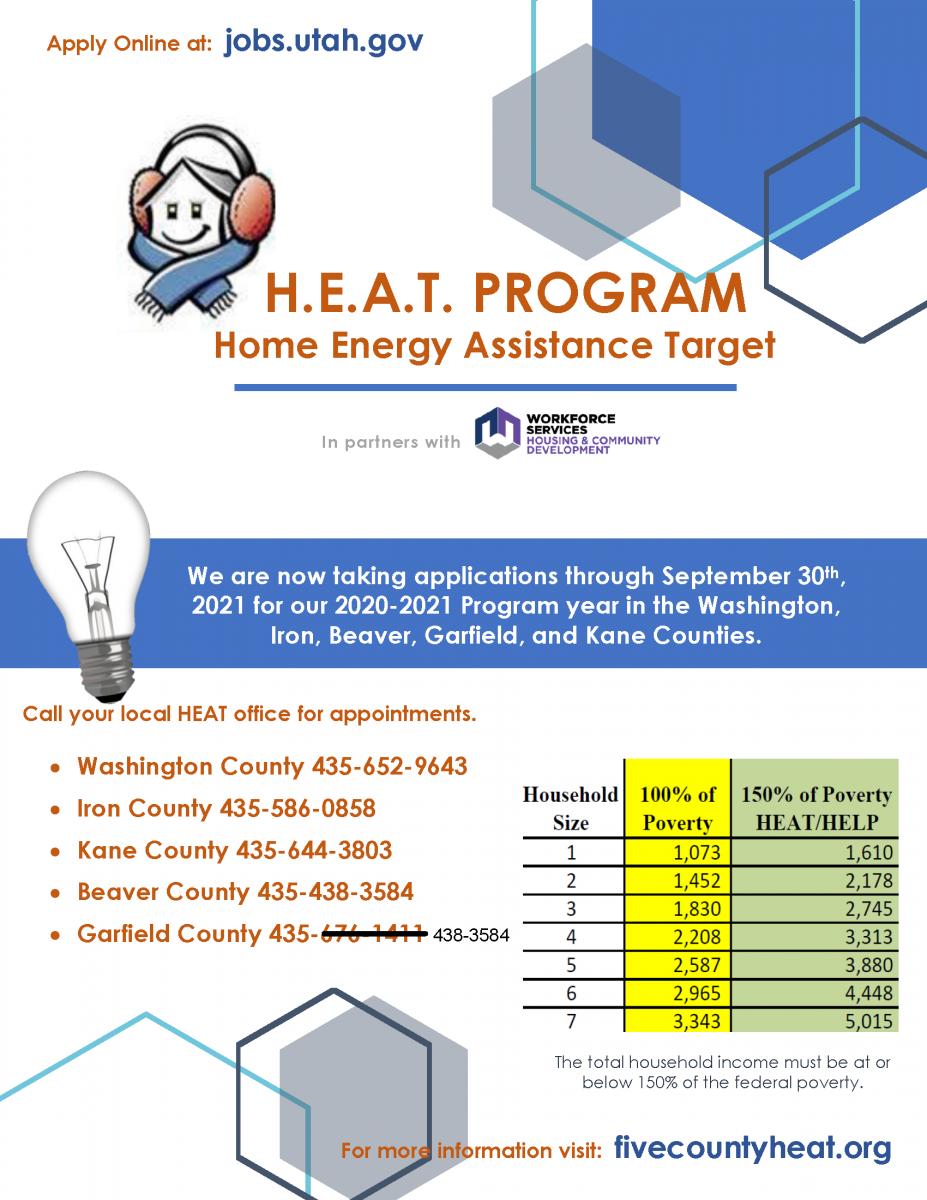 HEAT Program Flyer